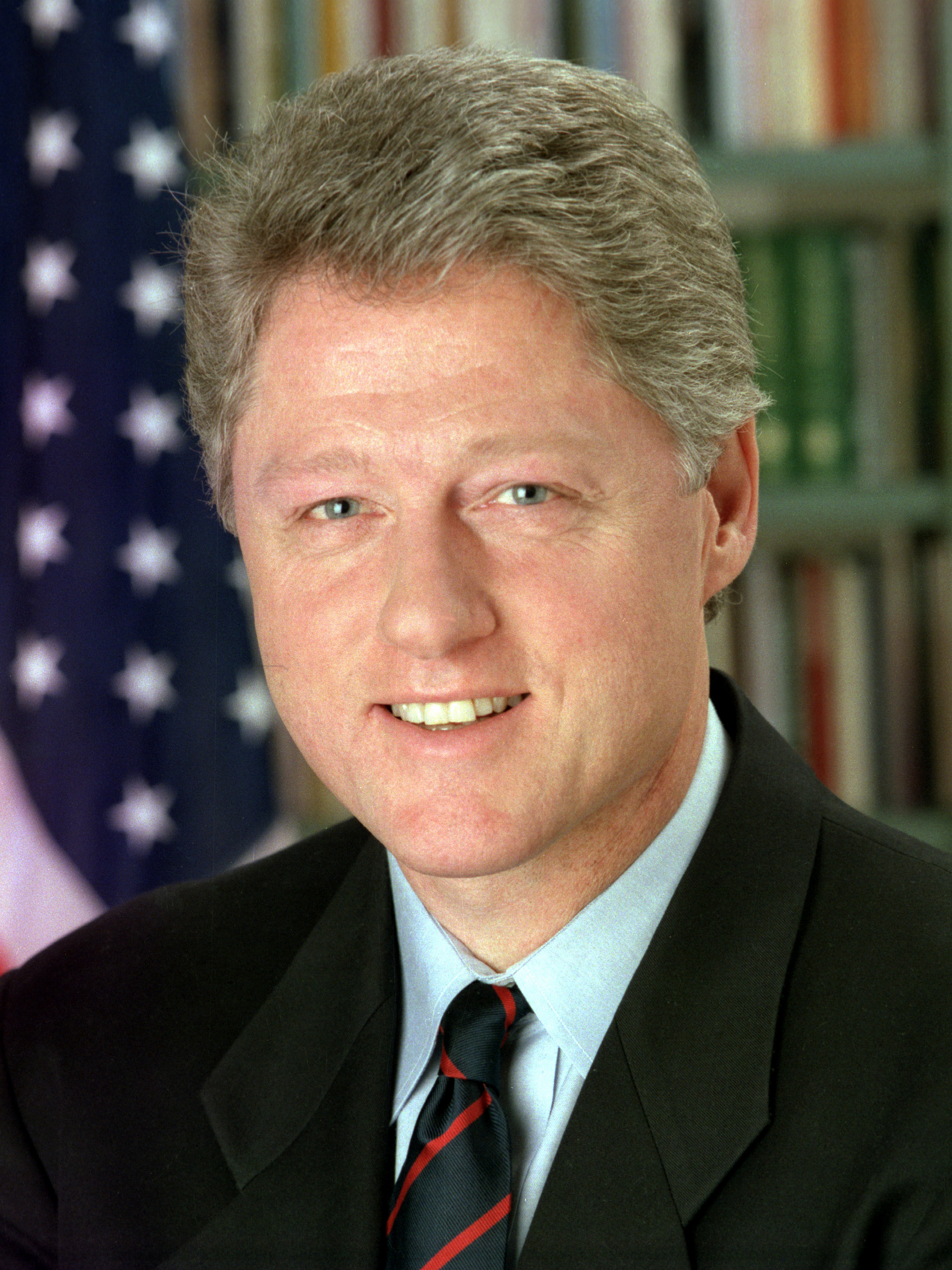 President Bill Clinton in 1993. Photo by Bob McNeely, The White House/Wikimedia Commons