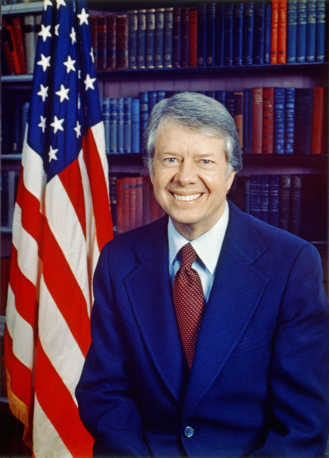 President Jimmy Carter White House Portrait. Photo by Official White House Photograph/Wikimedia Commons