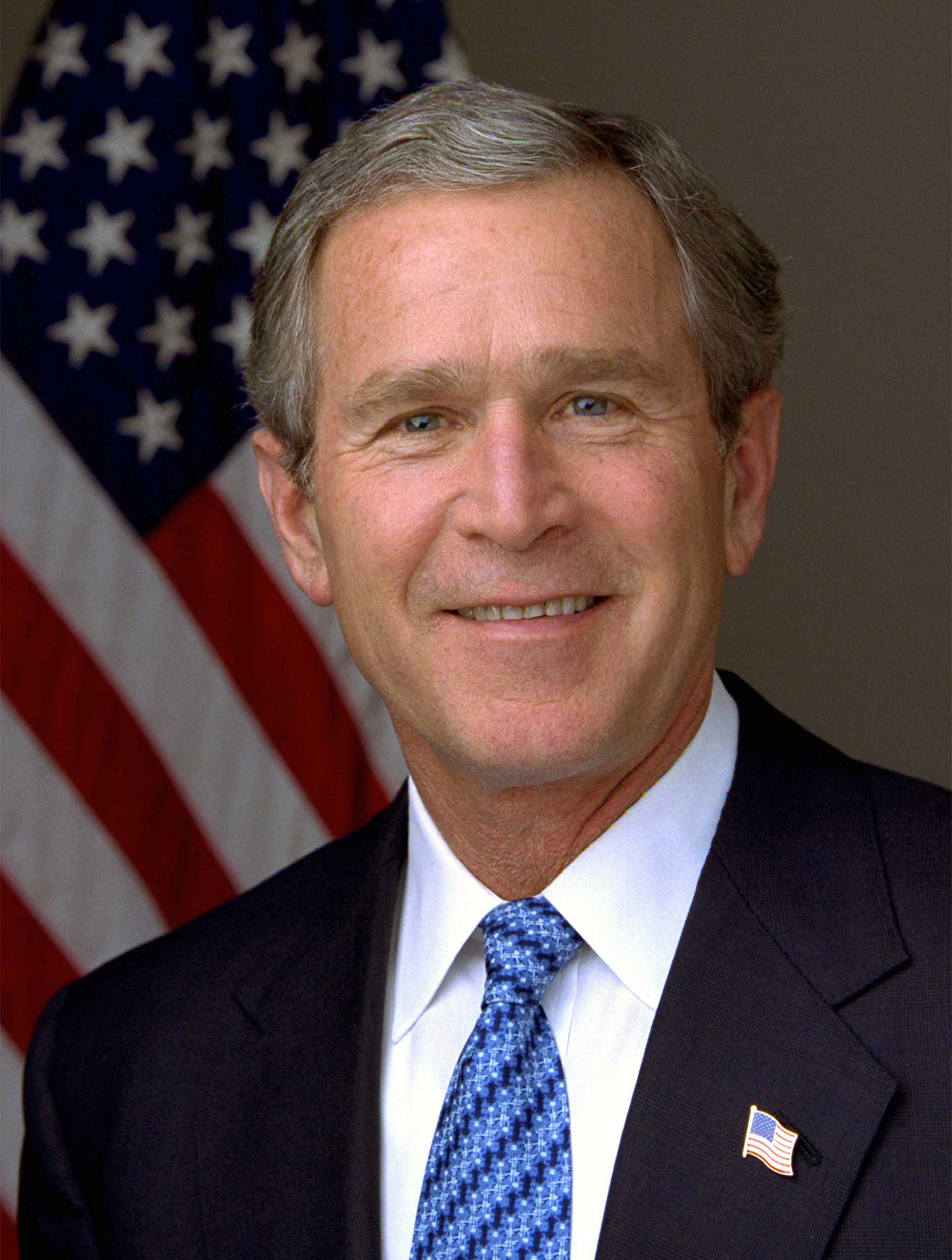 President George W. Bush Portrait. Photo by Eric Draper, White House/Wikimedia Commons