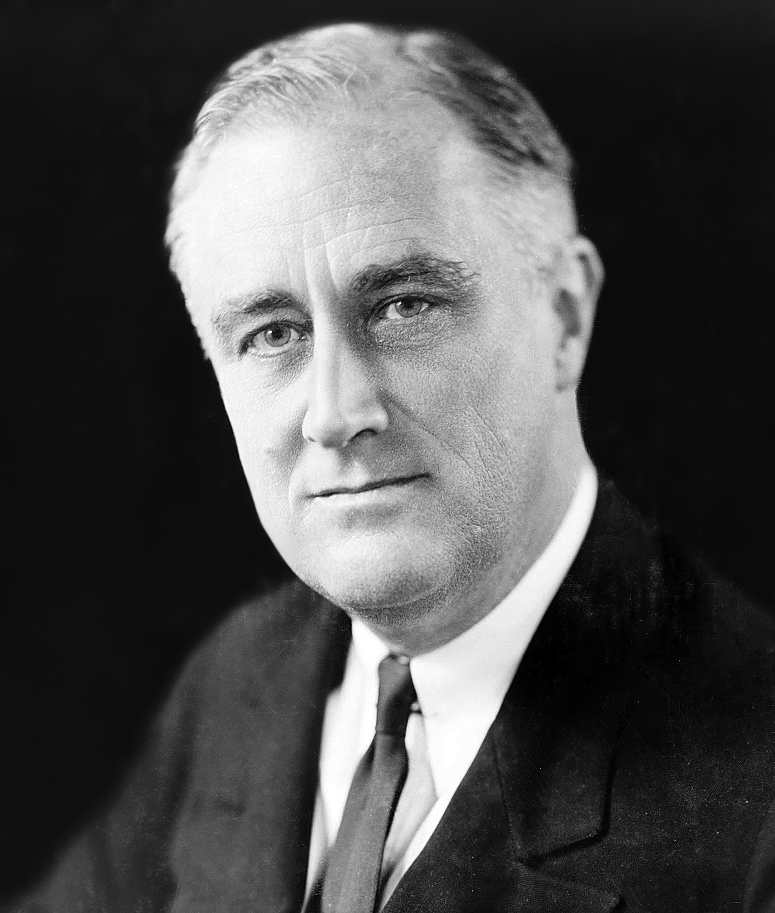 Franklin D. Roosevelt in 1933. Photo by Elias Goldensky/Wikimedia Commons.