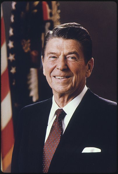 President Ronald Reagan. Photo by Department of Defense/Wikimedia Commons